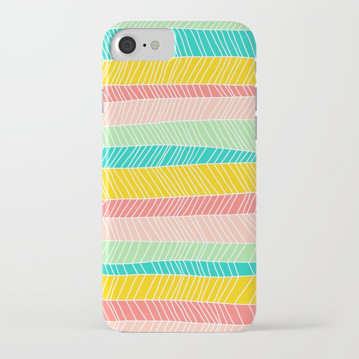 Beach Stripe (Vintage Candy) iPhone Case