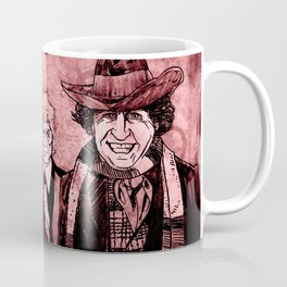 Doctor Who - One, Two, Three and Four Coffee Mug