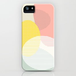 Lost In Shapes II #society6 #abstract iPhone Case