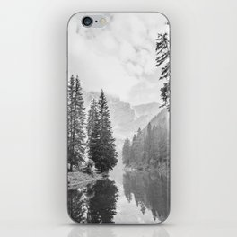 The Perfect View (Black and White) iPhone Skin