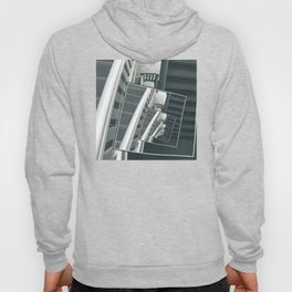 Spinning Carpeted Stairwell Hoody