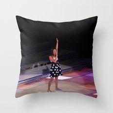 Glee Concert: Lea Michele Throw Pillow
