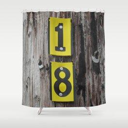 Forever 18  Shower Curtain