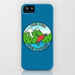 Stop Pebble Mine iPhone Case