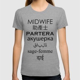 Midwife Languages T-shirt