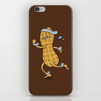 health iPhone & iPod Skins featuring Health Nut by Jelly Soup Studios