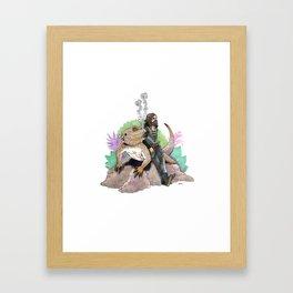 King Richard & Tad Cooper Framed Art Print