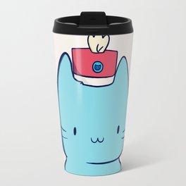 Drummer kitten Travel Mug