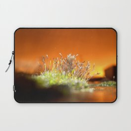 Face away from the oncoming storm Laptop Sleeve