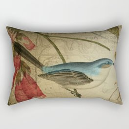 EPHEMERA Birds Pair 1b Rectangular Pillow