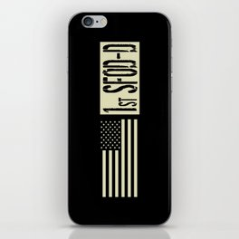 1st SFOD-D (Black Flag) iPhone Skin