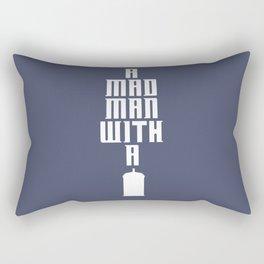 Tardis, Doctor Who - A Mad Man With a Box Rectangular Pillow