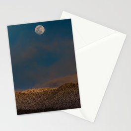 Colorado Moonrise Stationery Cards