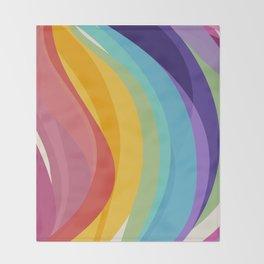 Fig. 045 Colorful Swirls Throw Blanket