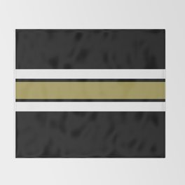 TEAM COLORS 2....Gold Throw Blanket