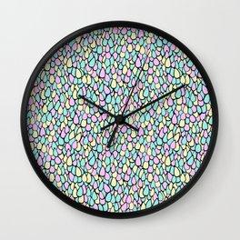 Doodle Squama Wall Clock