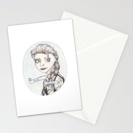 Riot Queen Stationery Cards