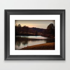 Peaceful Easy Feeling Framed Art Print
