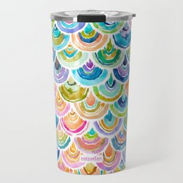 STRANGEBOW Rainbow Mermaid Scallop Travel Mug