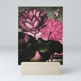 Mauve Pink Sacred Egyptian Bean Temple of Flora Mini Art Print