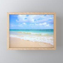 Beach Framed Mini Art Print