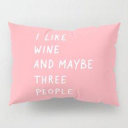Wine Pink Pillow Sham