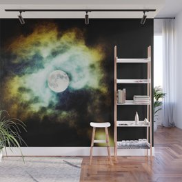 The Darkness Comes Wall Mural