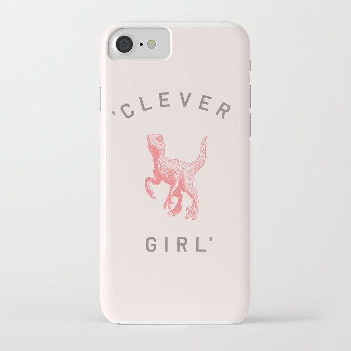 clever girl iphone case