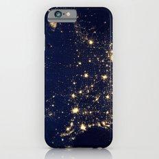 United States of America City Night Lights Slim Case iPhone 6s