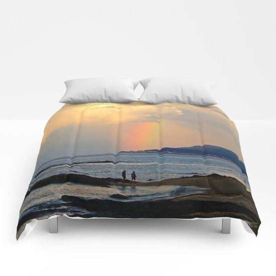 Adventure under the Rainbow Comforters