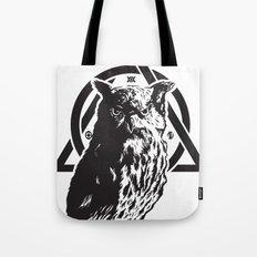 Owl & symbols Tote Bag