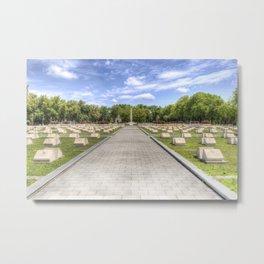 Russian War Graves Budapest Metal Print