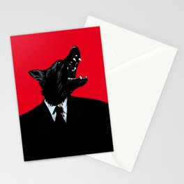 Humanity is overrated Stationery Cards