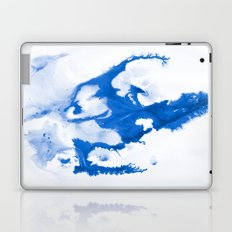Paint 3 abstract modern art wall art for college dorm school trendy painting brushstrokes water wave Laptop & iPad Skin