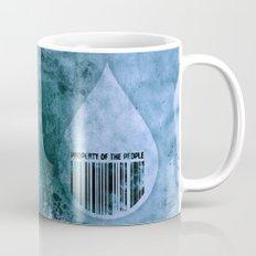 Water, Property of the People 1 Mug