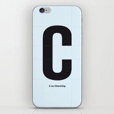 some character 003 iPhone & iPod Skin
