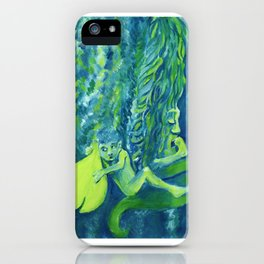 Elf 1 iPhone Case
