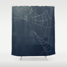 Web Shower Curtain