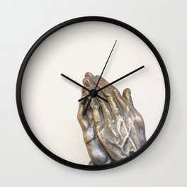 Art Piece by Deb Dowd Wall Clock