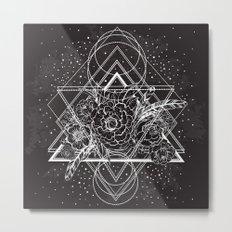 Geometric Cosmos Metal Print