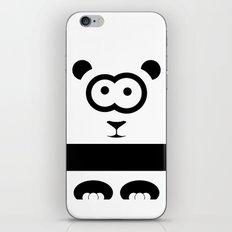 Minimal Panda iPhone & iPod Skin