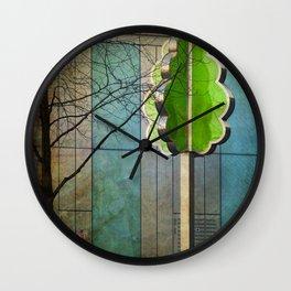 The Modernist Tree Wall Clock