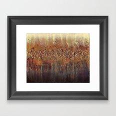 Dandelion Roar Framed Art Print