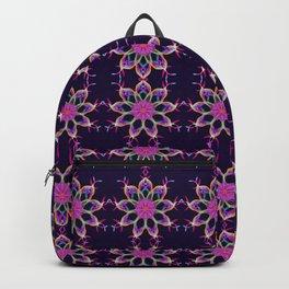 Colourful ribbons kaleidoscope Backpack