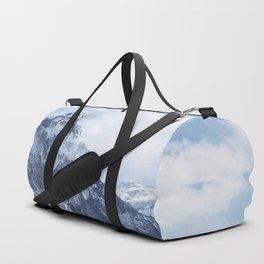 Snowy Mountain Peaks Duffle Bag