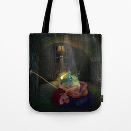 Woman with the Dragon Tattoo Tote Bag
