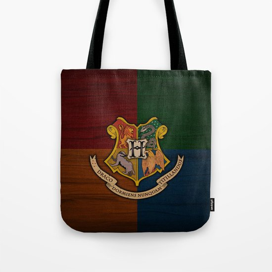 Harry Potter Hogwarts Crest Book Bag. What a great way to carry your library books!