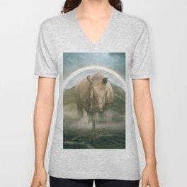 aegis | rhino Unisex V-Neck