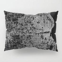 milwaukee map Pillow Sham