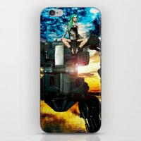 heavy metal iPhone & iPod Skins featuring Heavy Metal by Danielle Tanimura